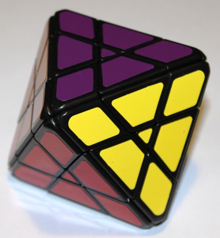 4x4x4 Octahedron Solved