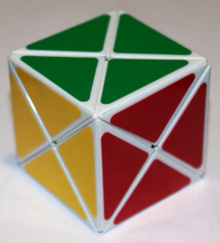 Dino cube, solved