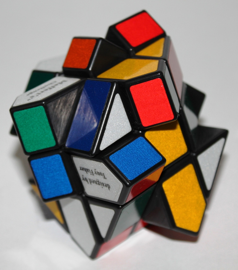 Fisher Cube, jumbled