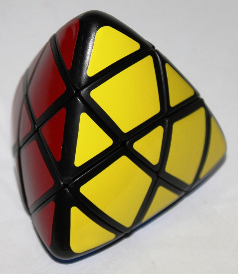 The Master Pyramorphix is the crème de la crème of Rubiks Cube variants