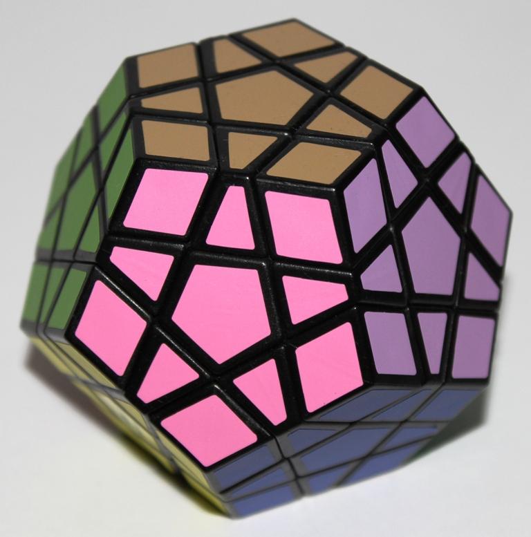 Megaminx, solved