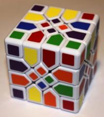 Mosaic Cube, scrambled
