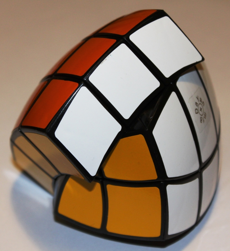 Pentahedron, turned on dihedral axis