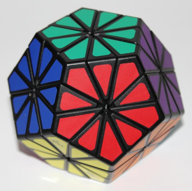 Pyraminx Crystal solved