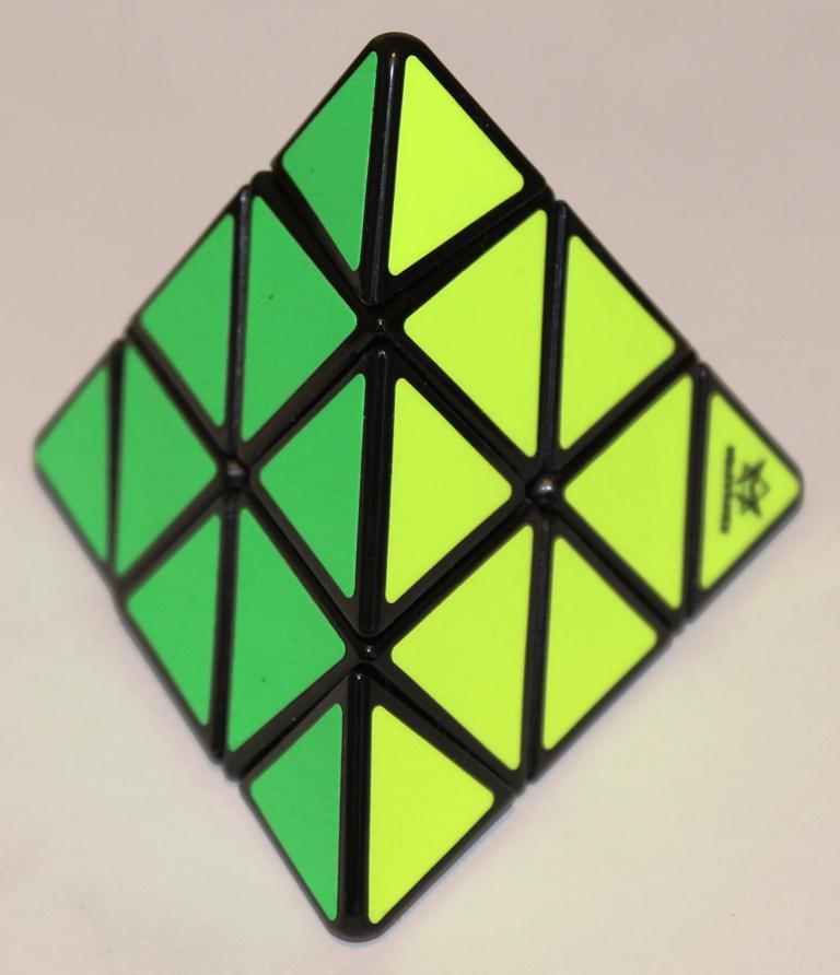 Pyraminx green yellow