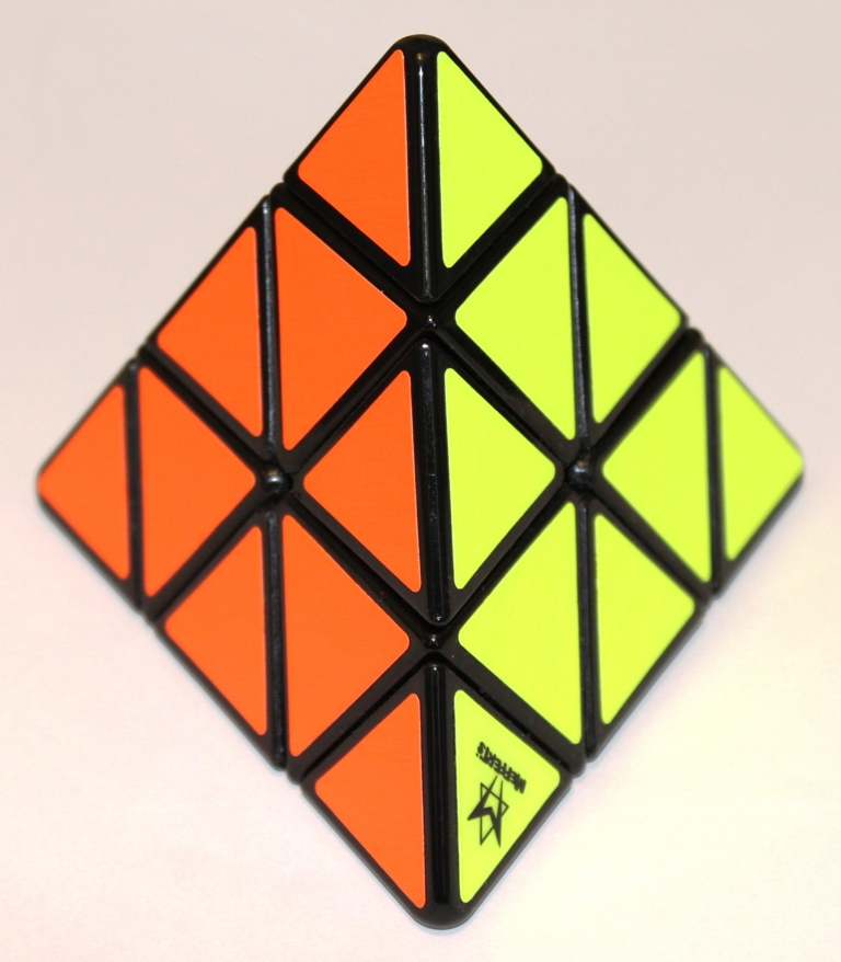 Pyraminx red yellow