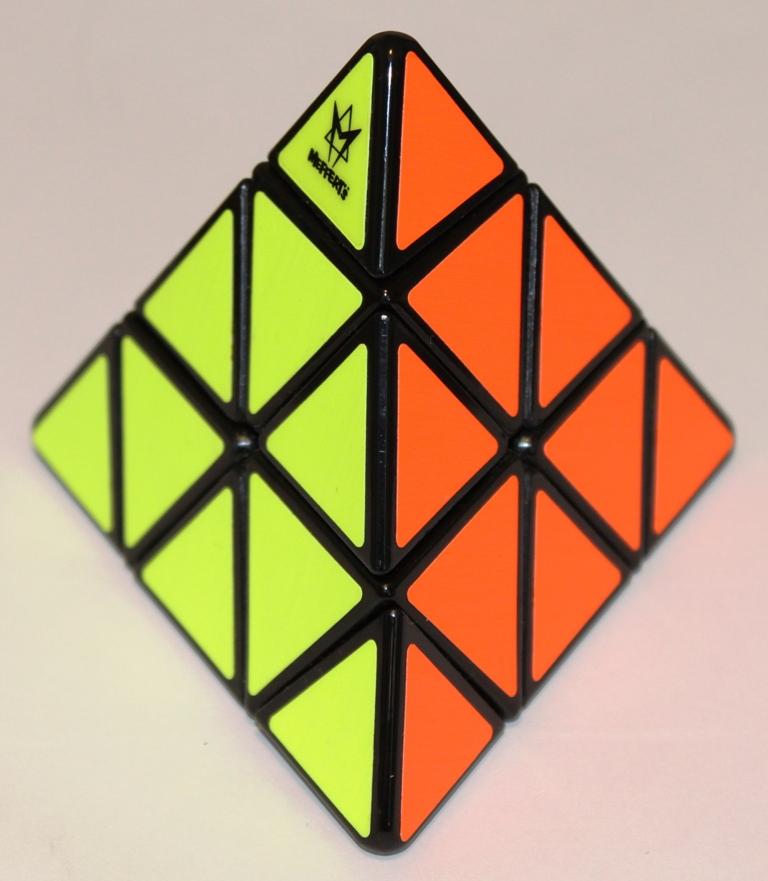 Pyraminx yellow red