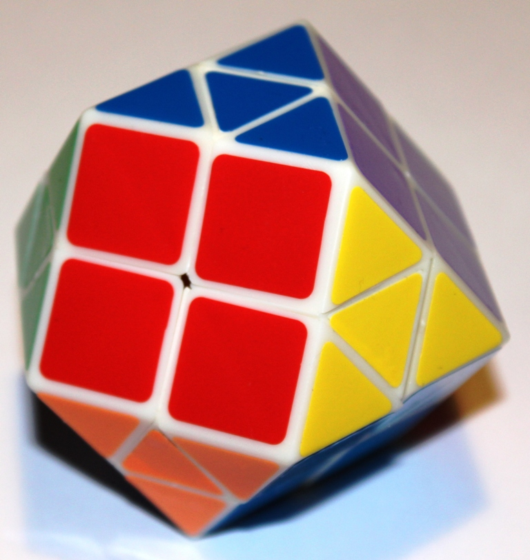Rainbow Cube, solved.