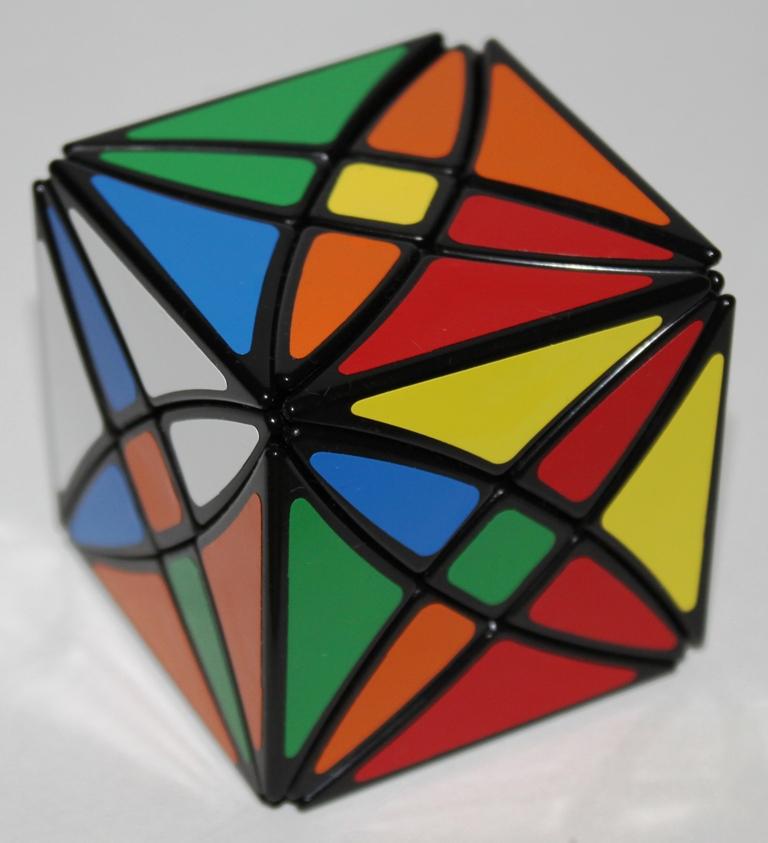 Rex Cube scrambled