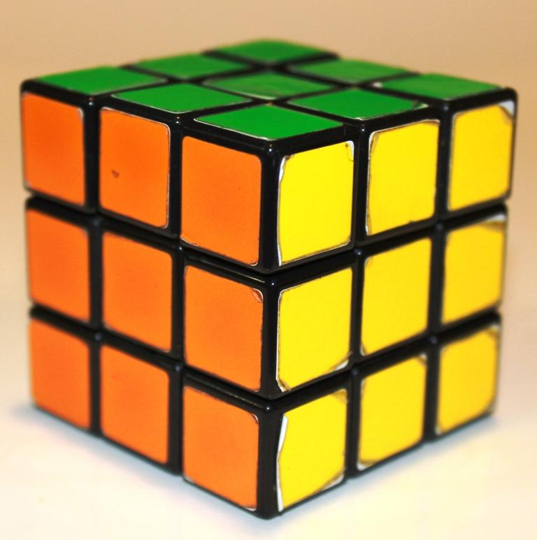 Rubiks Cube orientation 1