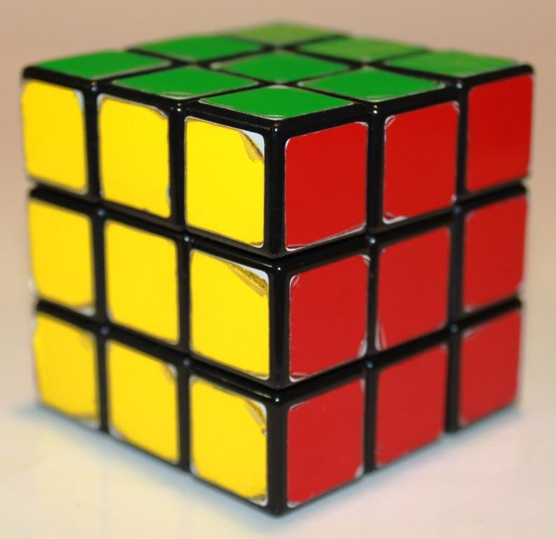 Rubiks Cube orientation 2