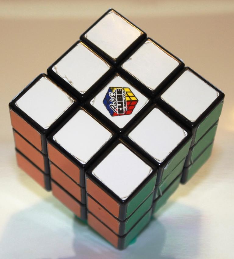 Rubiks Cube orientation 6