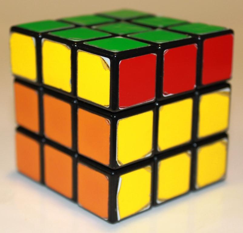 Rubiks Cube orientation turn