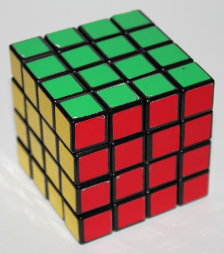 Rubiks Revenge, solved