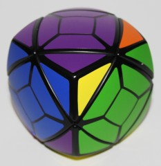 Skewb, one turn from solved