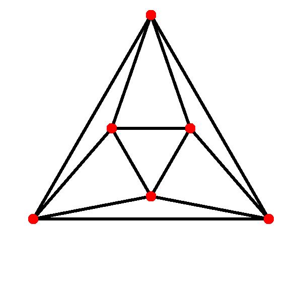octahedron skeleton