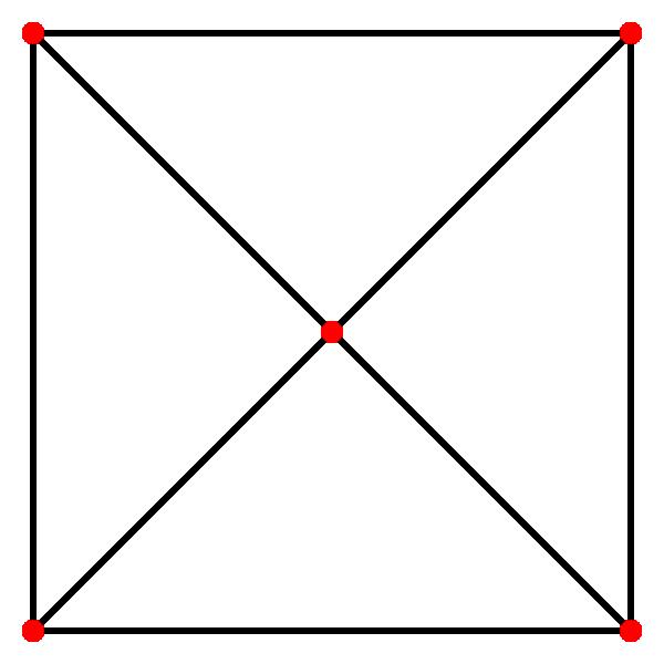 square pyramid skeleton