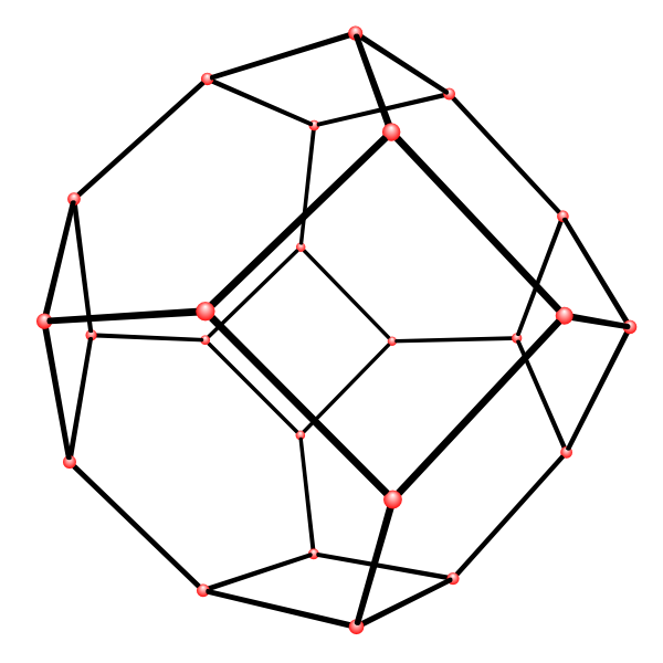 Truncated Octahedron -- from Wolfram MathWorld